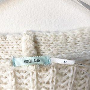 Kimchi Blue Sweaters - Kimchi Blue Ivory Duster Open Cardigan